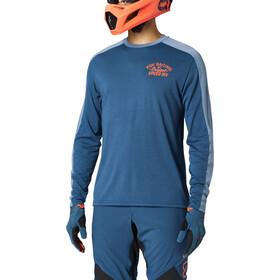 Fox Ranger Dri-Release Maglia a Maniche Lunghe Uomo, blu